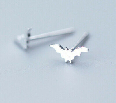 Sterling Silver Bat in Flight Pendant Flying Bat Charm 925 Fazio/'s Retail $229