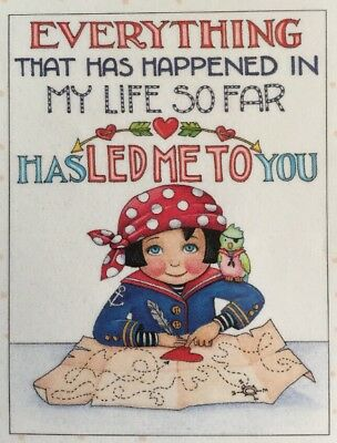 Mary Engelbreit-YEAH THAT HAPPENED MOVE ON-Blank Greeting Card w//Envelope-NEW!