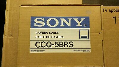 Original Sony CCQ-5BRS Camera Cable