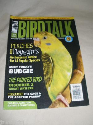 BIRD TALK MAGAZINE Mar 00 Budgie Budgerigar Parakeet How To Choose
