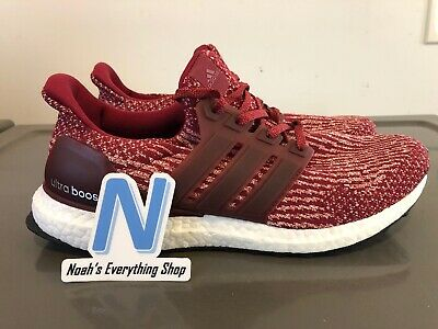 19d9be9b10c57 Adidas Ultra Boost 3.0 Collegiate Burgundy Running Shoes BA8845 New Size 8.5