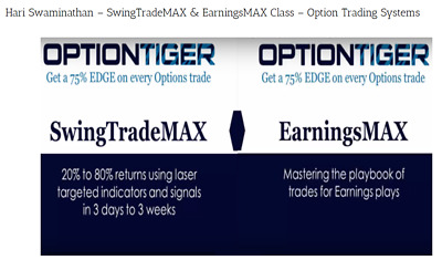 Swingtrademax & Earningsmax Class – Option Trading Systems