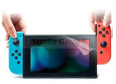 Film de protection écran (screen protector) + lingette pour Nintendo Switch