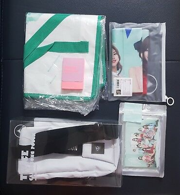 TWICE TWICELAND OPENING concert goods(old candy bong pouch/photocard/postcard)