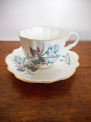 Vintage / Cup and saucer/ Bone china/ Estate find / Tea cup