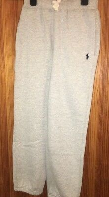 Boys Ralph Lauren Joggers Age 8 Years Grey Comfy Bottoms Sweats NEW TAGS