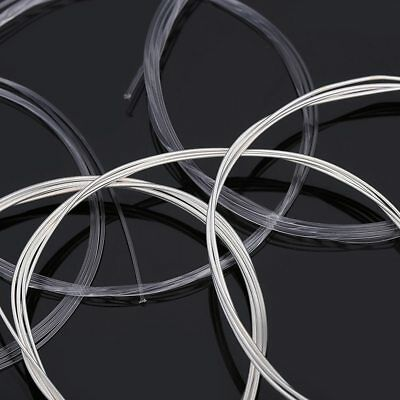 6 pcs/set Guitar Strings Nylon Silver Plating Super Light Classic Acoustic NR