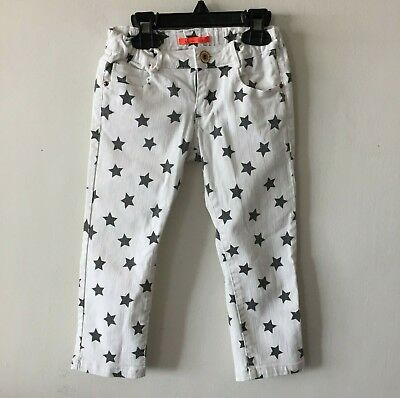 Zara Girls ZRG Jeans Stars Slim Fit Casual Collection Pants Girl's 3-4