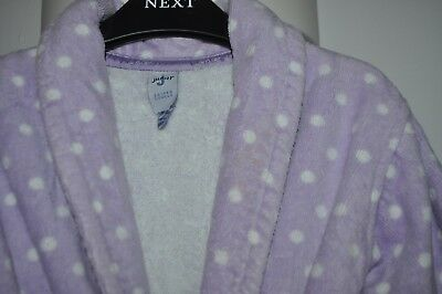 Towelling girls' dressing gown by Junior J Jasper Conran. Age 12-18 months