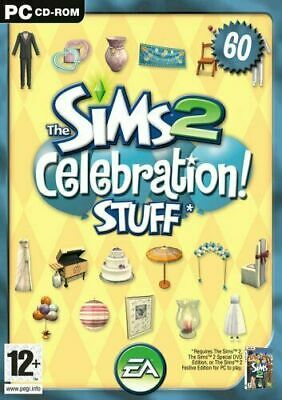 The Sims 2: Celebration! Stuff (2007) *Expansion Pack - For PC DVD-ROM..........