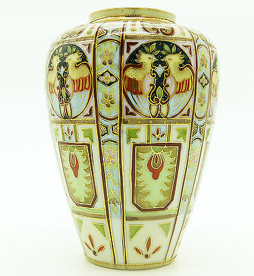 Antique Liberty & Co a rare wonderful Nippon Art Deco hand painted Vase 1 C.1920