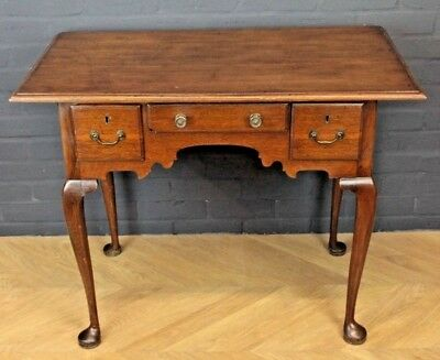 Antique Victorian Mahogany Lowboy Hall Table Console Table Side Table