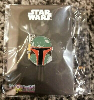 Star Wars Celebration 2019 Boba Fett Battle Damage Exclusive Pin LE IN HAND