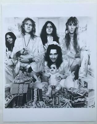 ALICE COOPER 8x10 Glossy Real Photo Billion Dollar Babies MINT