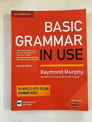 Basic Grammar in Use American English with Answers Raymond Murphy 4th Ed. 2017