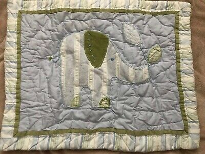 NWT Pottery Barn Kids ELEPHANT Small Pillow Sham Jungle Friends 12x16""