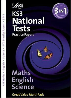 Letts Key Stage 3 Practice Test Papers - KS3... by Educational Experts Paperback