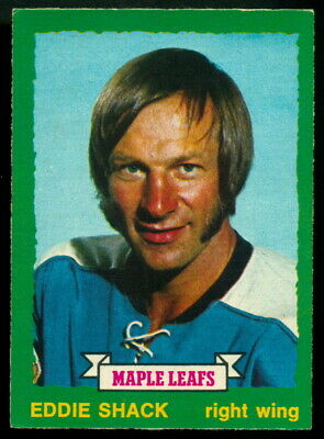 1973-74 Opc O Pee Chee #242 Eddie Shack Nm Toronto Maple Leafs Hockey Card