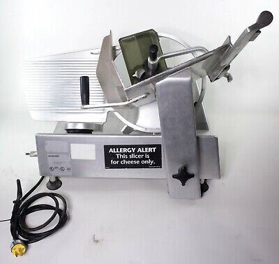 Bizerba SE 12 Commercial Stainless Steel Meat Cheese Slicer Deli Equipment