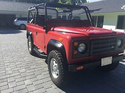 1994 Land Rover Defender 2 door Land Rover Defender 94 NAS D90 Portifino Red #422