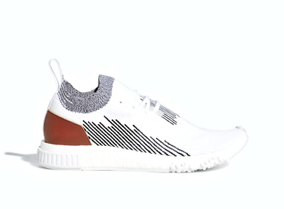 best cheap c857c dae4f ADIDAS AC8233 NMD RACER Mn´s (M) White Core Black Textile Athletic Shoes