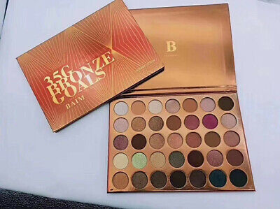 LIMITED EDITION MORPHE 35G Bronze Goals Artist Eyeshadow Palette