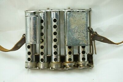 Vintage Coin Changer 5 Chambers Plus 50 Cent And Ticket Holder Nyc Galef Transit