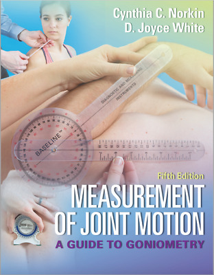 Measurement of Joint Motion A Guide to Goniometry 5th Ed PDF by Norkin White 5e