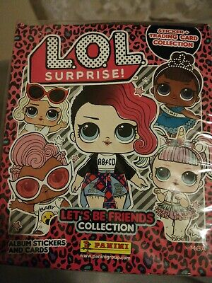 LOL SURPRISE 2 L.O.L Let's Be friends Collection Box Of Stickers RRP £45 Panini