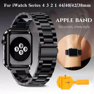 For Apple Watch Series 4/3/2/1 Stainless Steel Wrist iWatch Band Bracelet Strap