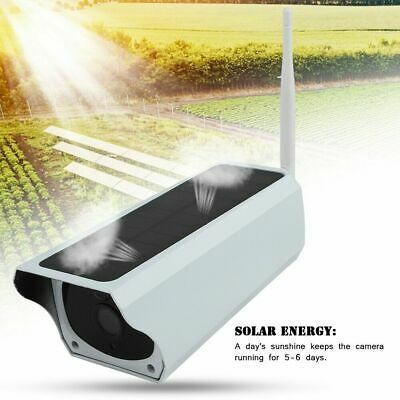 Full HD 1080p Solar WiFi 2MP Outdoor Wireless Security IP Camera Night Vision