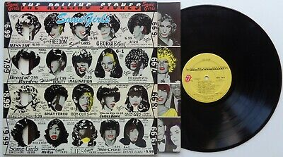 K41Rolling StonesSome Girls (4)COC 39108US 1st Version LP in Gimmick Sleeve
