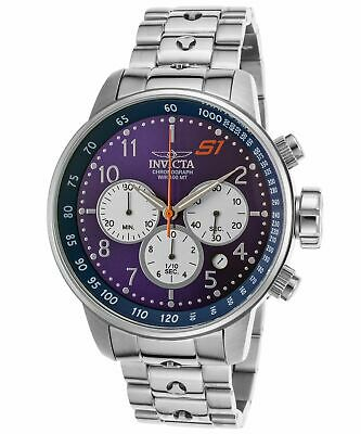 Invicta Men's 'S1 Rally' Quartz Stainless Steel Casual Watch, Color:Silver-Toned