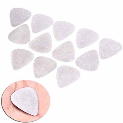 12X bass guitar pick stainless steel acoustic electric guitar plectrums OS