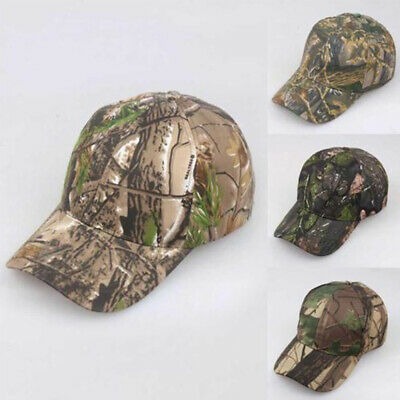 a217bec4cd8 1Pc Unisex Camouflage Adjustable Cap Camo Baseball Hunting Fishing Army Sun  Hat