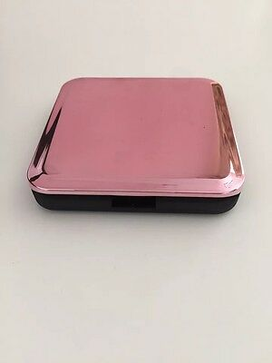Pink Compact Folding Make-up Mirror