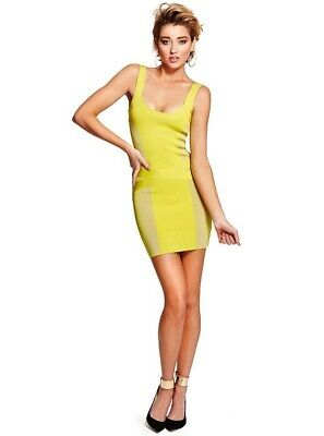 ba1a3aec74 Guess By Marciano Women s Josette Bandage Formfitting Dress Size S