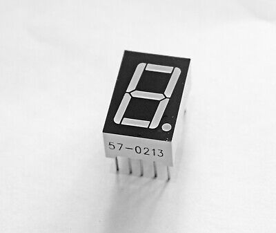 """Four Pieces 0.56"""" Yellow Green Seven Segment Display Common Anode 12mcd"""
