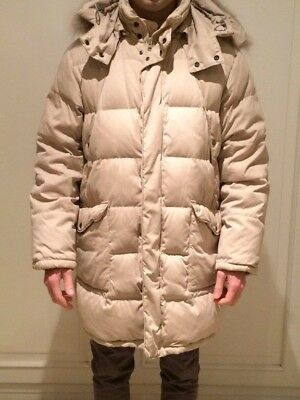 hot sale online 70816 7996d GIACCONE PIUME D'OCA uomo invernale parka Marina Yachting Beige 50