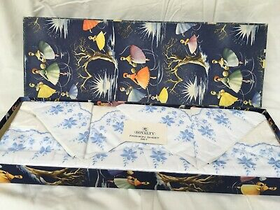 vintage retro french Italian boxed bed linen wedding set 1950s 60s unopened