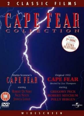 Cape Fear Box Set [1961 and 1991] [DVD] [1962] By Gregory Peck,Robert Mitchum.