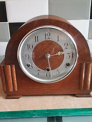 Westminster Chime Mantle Clock (British) All Original