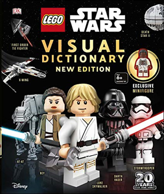 Lego Star Wars Visual Dictionary New Edition BOOKH NEW