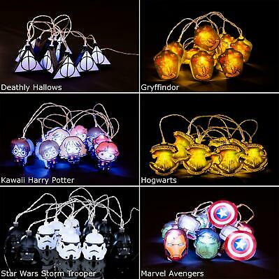 String Fairy 2.5m LED Lights Marvel Avengers Harry Potter Star Wars Official New