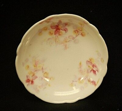 Old Vintage Theo. Haviland Butter Pat Porcelain Floral Pattern Limoges France