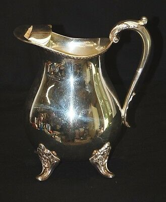 Vintage EPCA Bristol Silverplate Water Pitcher Ice Guard by Poole Silver Co. B44