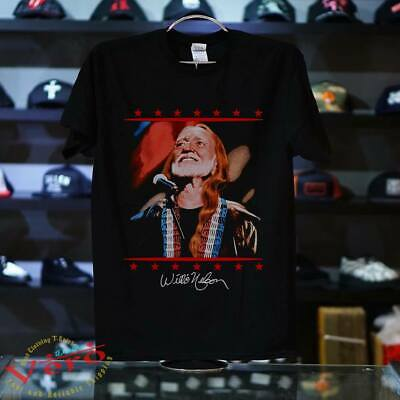 vtg 90s Willie Nelson american icon REPRINT T SHIRT SIZE S-5XL