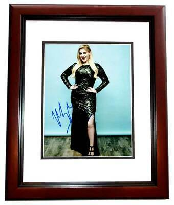 Signed 8x10 Photo Ad2 Coa Gfa All About That Bass Meghan Trainor