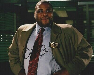 Entertainment Memorabilia Shop For Cheap Blackish Anthony Anderson Signed 8x10 Photo