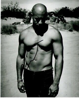 Vin Diesel Signed Fast and Furious 8x10 Photo - Dominic Toretto - RDM COA